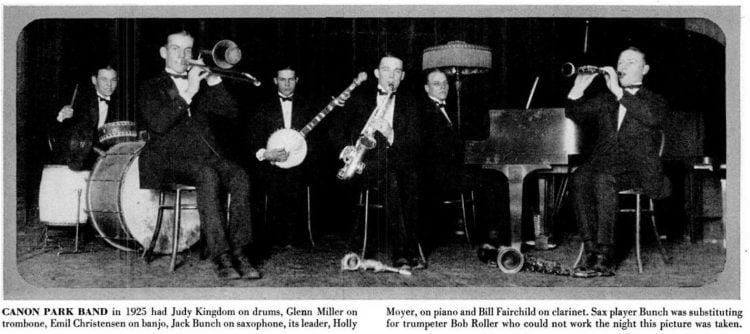 Glenn Miller in 1925