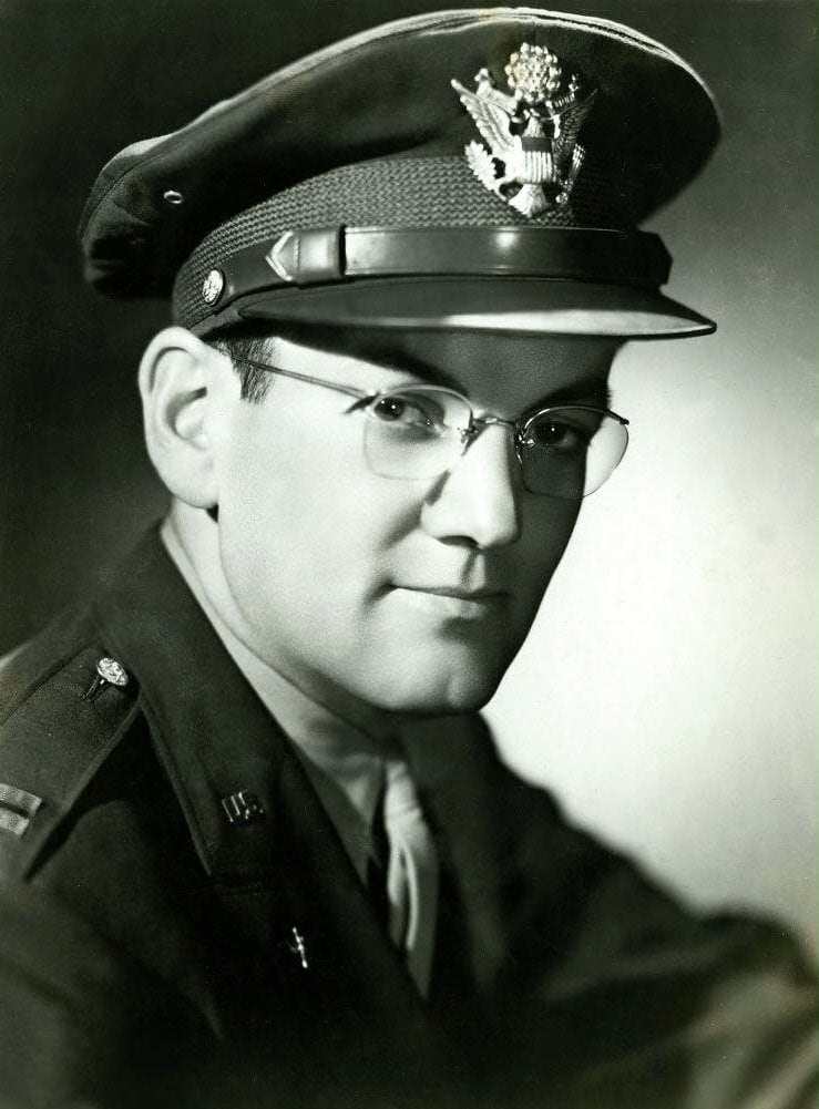 Glenn Miller in military uniform