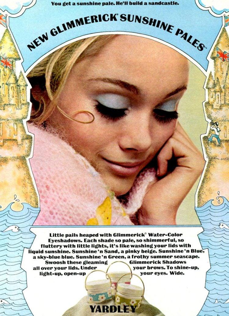 Glimmerick blue eyeshadow 1969