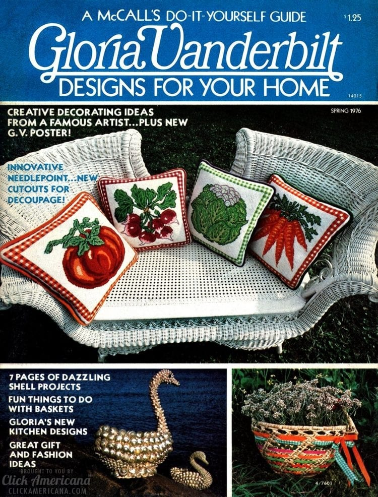 Gloria Vanderbilt Designs for Your Home magazine - Spring 1976 (1)