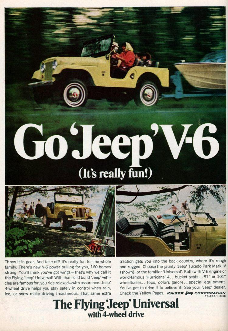 Go Jeep V-6 It's really fun! (1966)