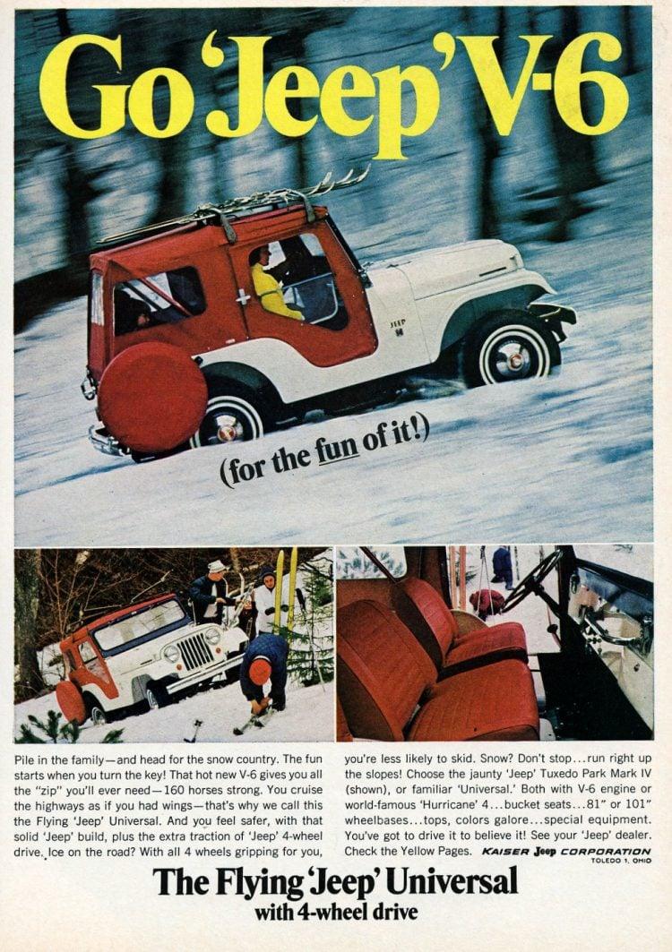 Go Jeep V6 The fun 4-wheel-drive (1966)