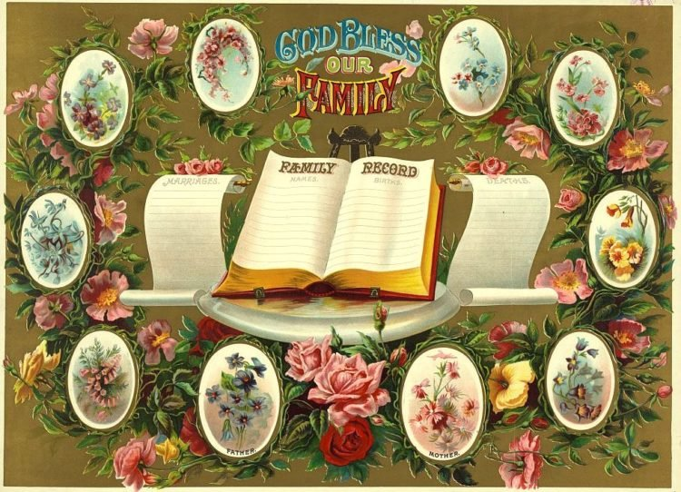 God bless our family, family record, Chicago