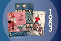 Gold Bell stamps home gift catalog from 1963