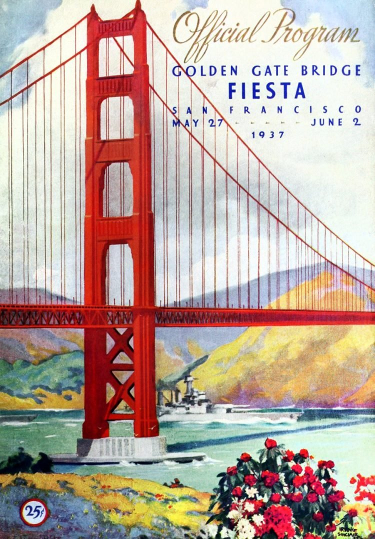 Golden Gate Bridge opening program - 1937 (2)