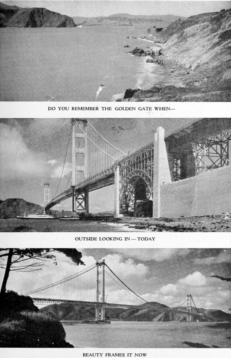 Golden Gate Bridge opening program - 1937 (4)