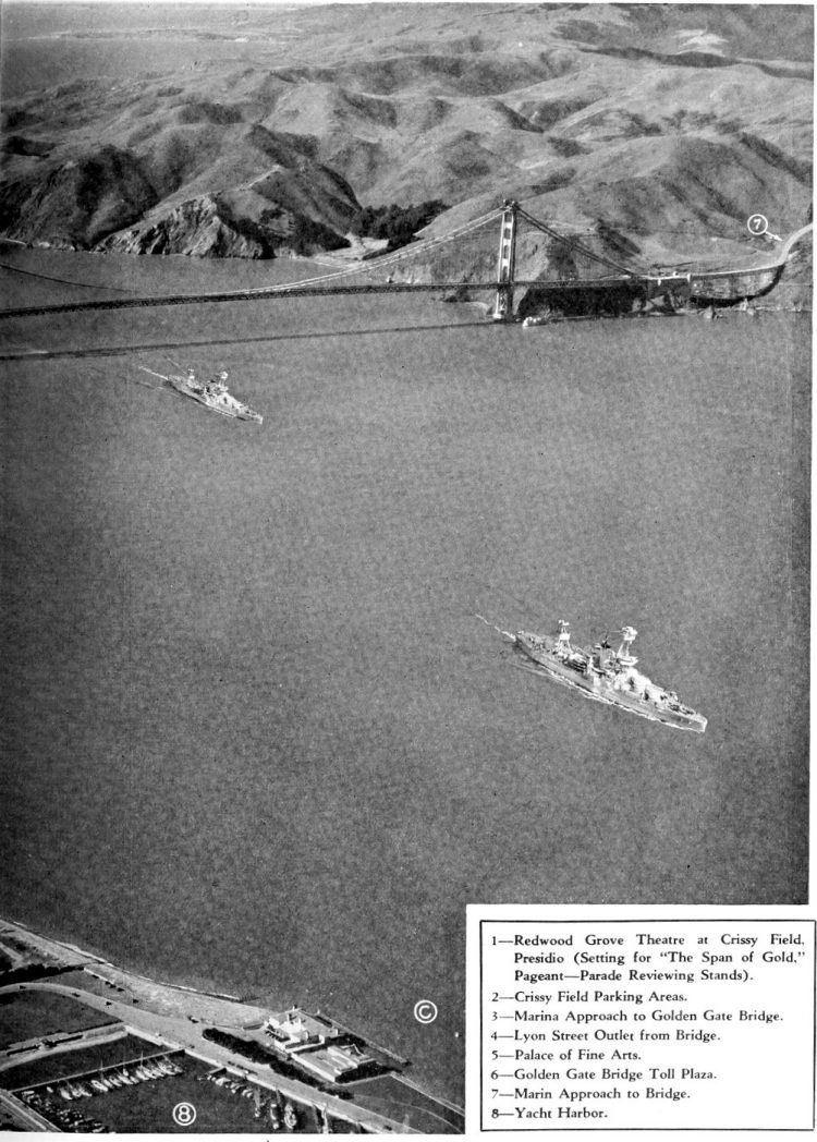 Golden Gate Bridge opening program - 1937 (7)