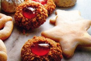 Golden thumbprints Classic jam-filled cookies (1981)