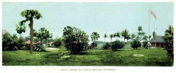 New golf club may render caddy obsolete (1900)