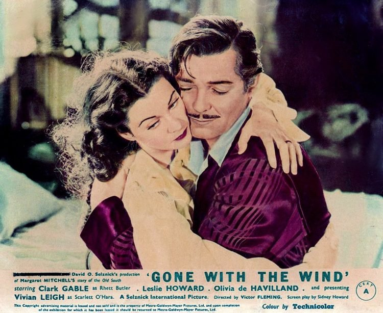 Gone With the Wind - PR photo Rhett and Scarlett