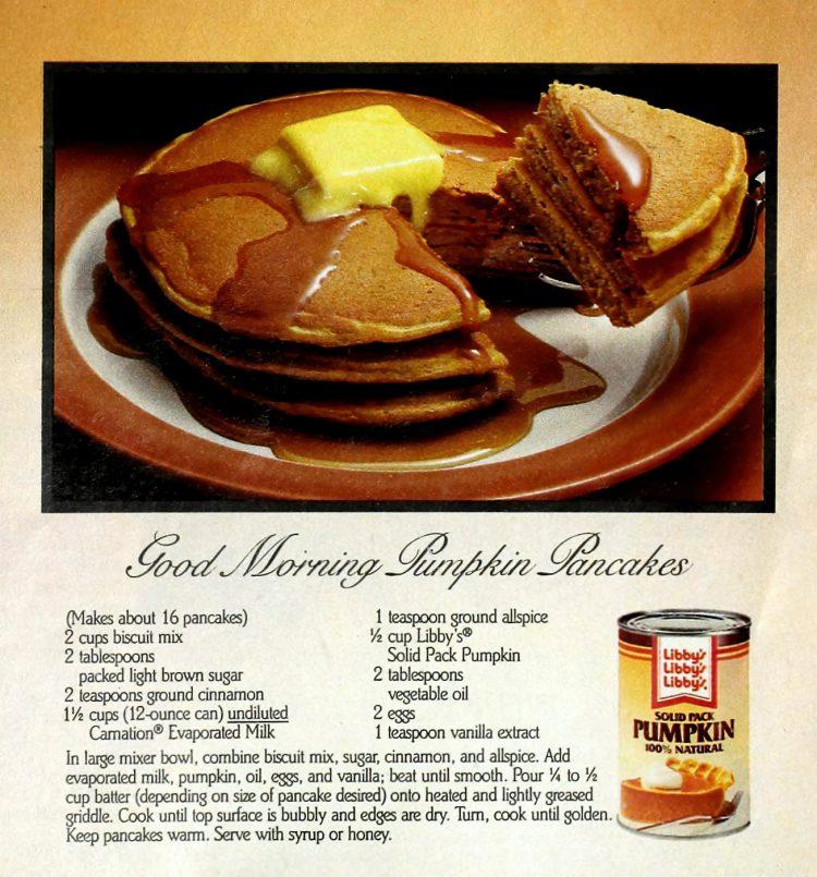 Good morning pumpkin pancake recipe (1)