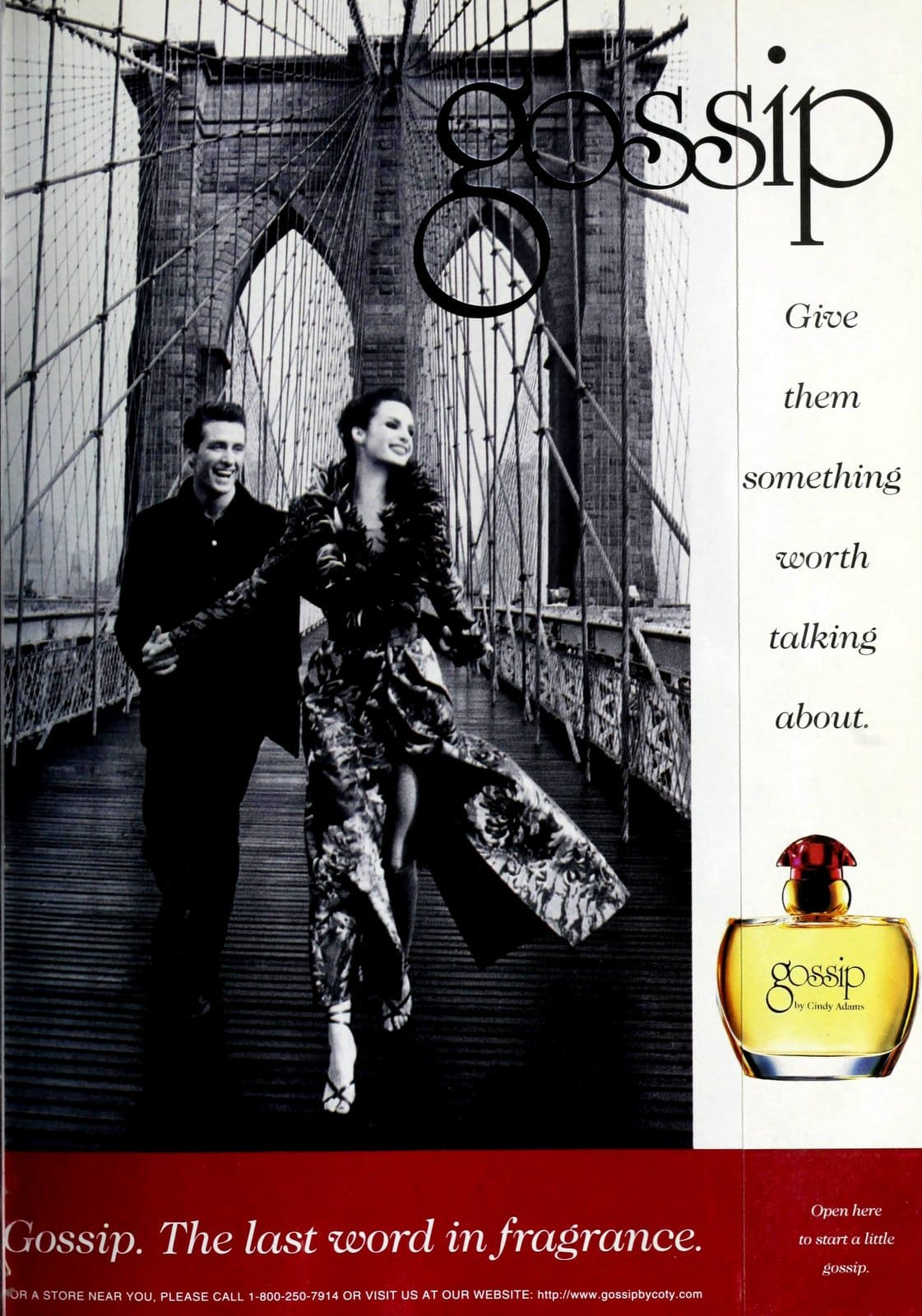 Gossip fragrance by Cindy Adams (1998) at ClickAmericana.com