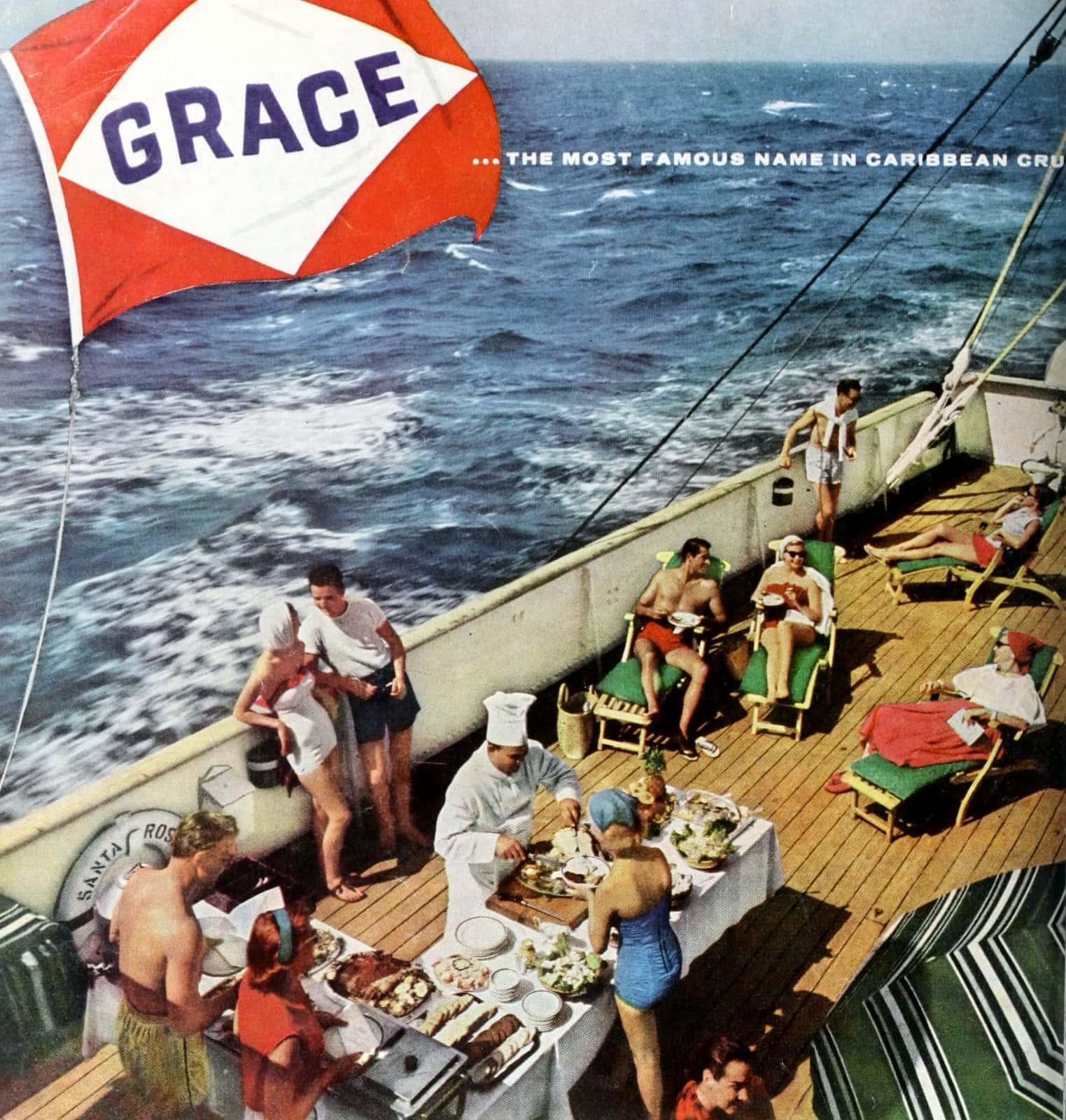 Grace cruise ship line 1950s