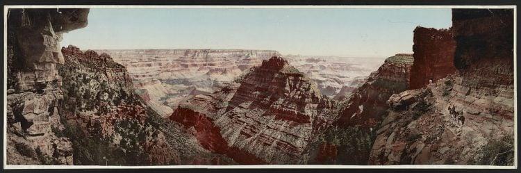 Grand Canyon of the Colorado, Arizona 1898