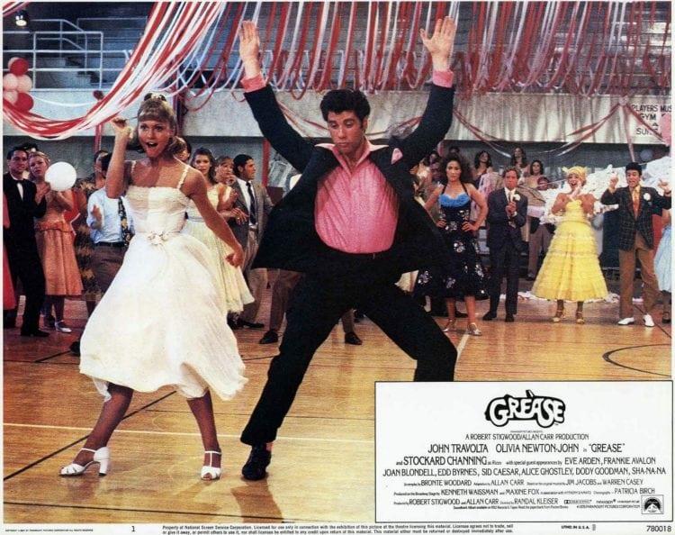 Grease 1978 lobby promo still