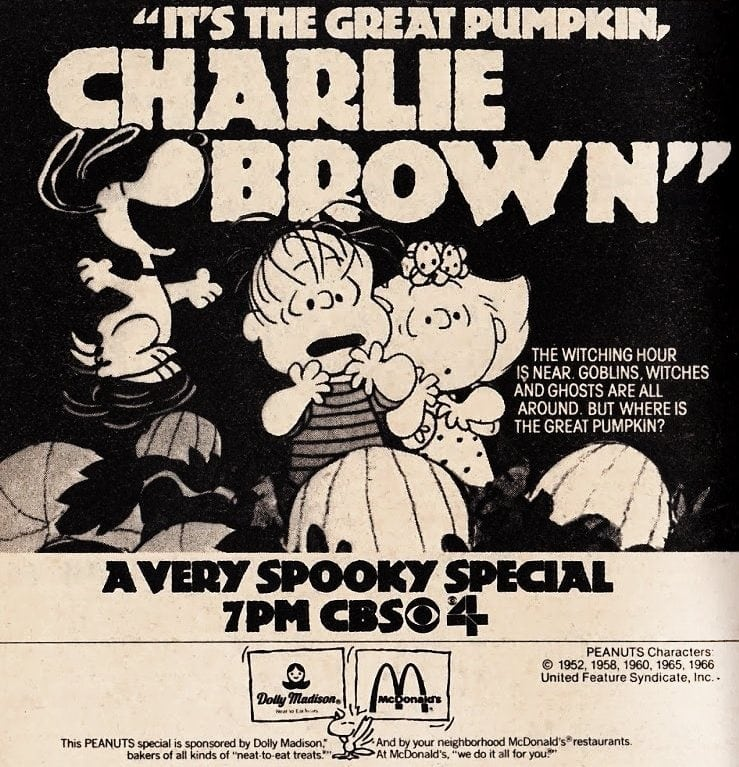 Great Pumpkin Charlie Brown 1978