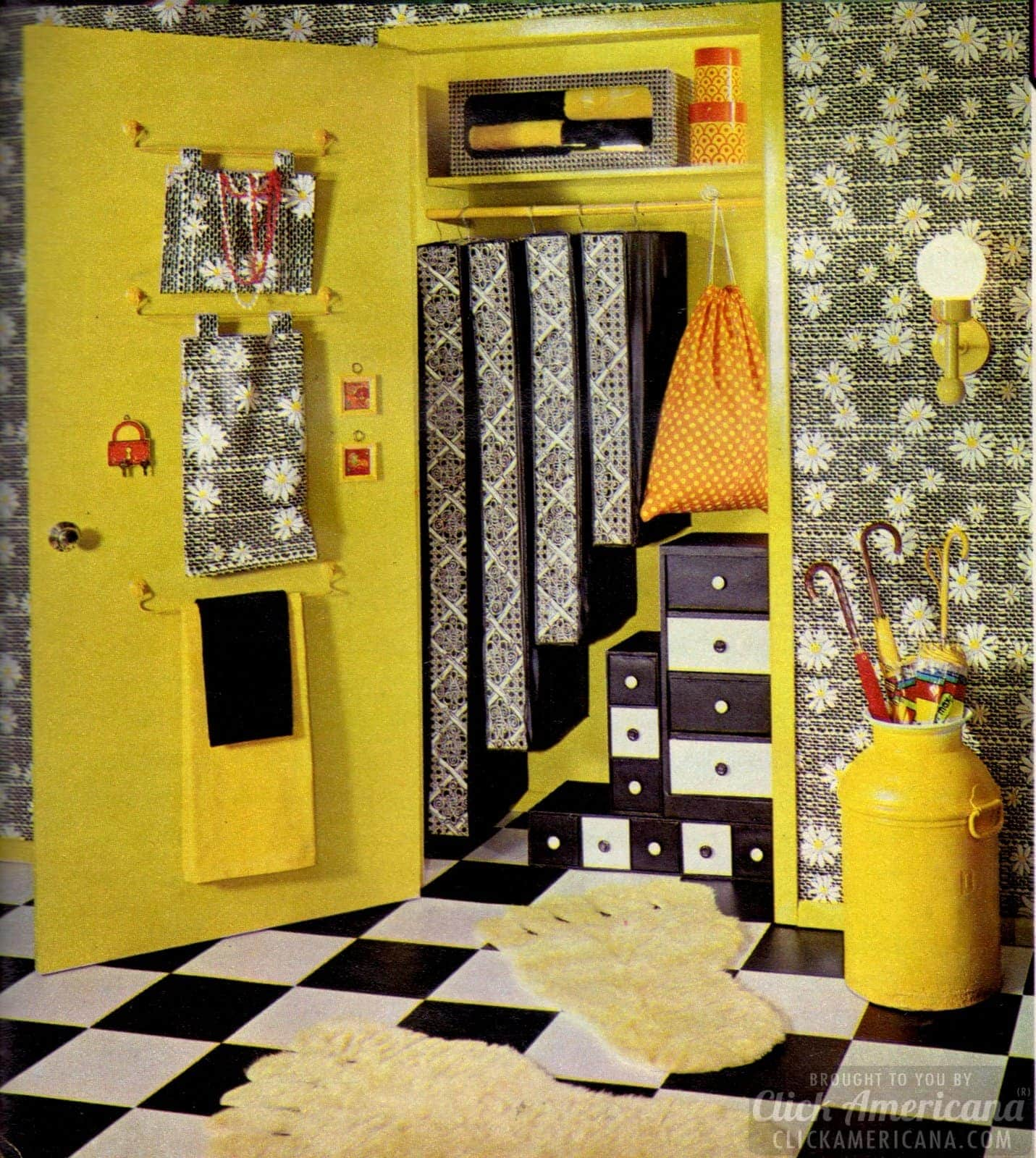 Great storage options for teen bedroom from 1971