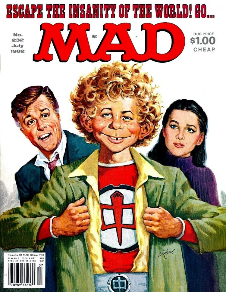 Greatest American Hero - MAD magazine cover