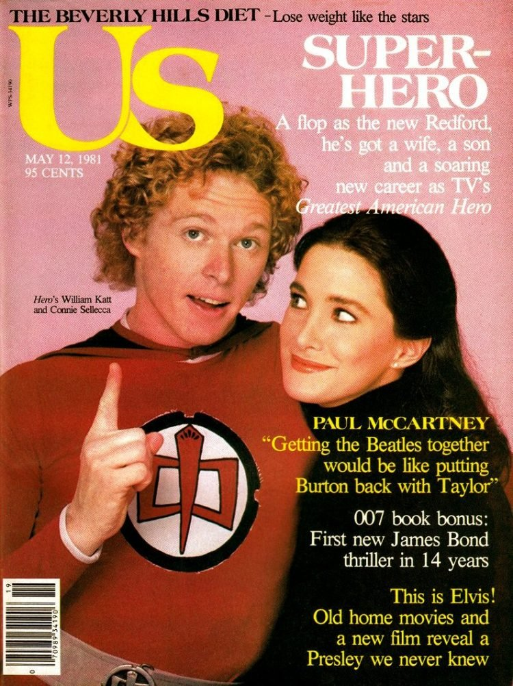 Greatest American Hero - TV show US magazine cover
