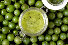 Green gooseberry jam recipe