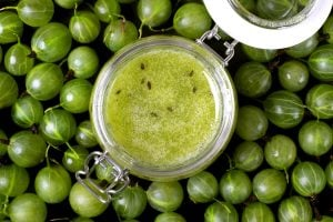 Green gooseberry jam recipe