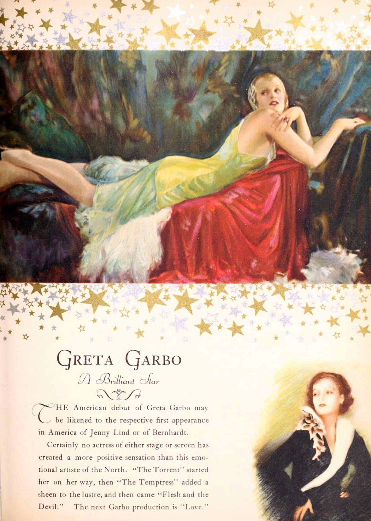 Greta Garbo - A brilliant star (1927)