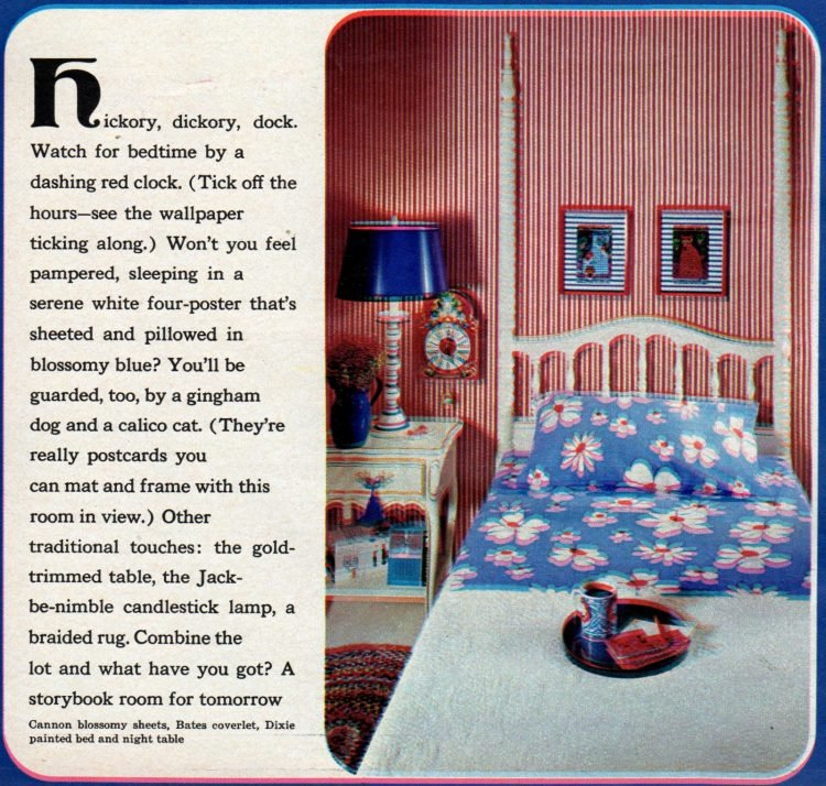 Groovy bedroom decorating ideas from 1970 (1)