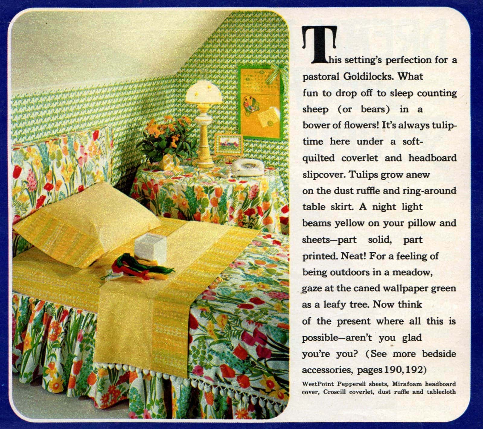 Groovy bedroom decorating ideas from 1970 (2)