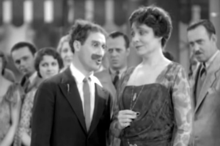 Groucho Marx Hello, I Must Be Going from Animal Crackers 1930 (1)
