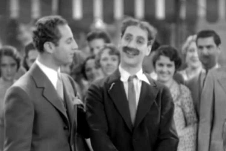 Groucho Marx Hello, I Must Be Going from Animal Crackers 1930 (2)