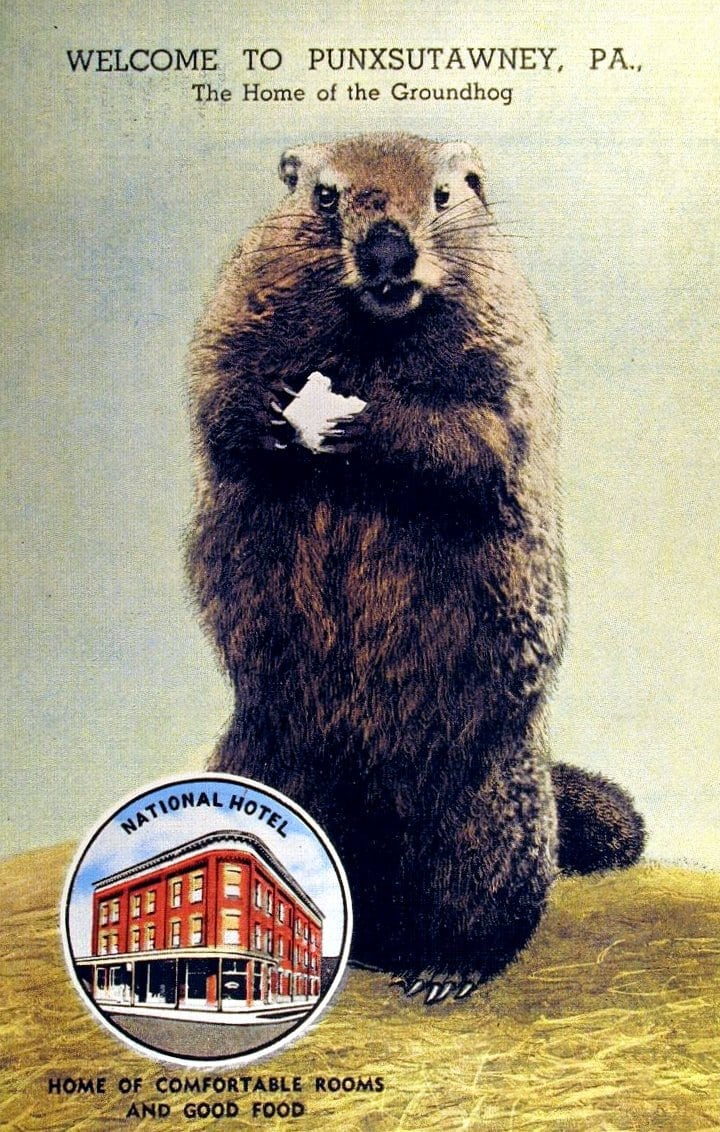 Groundhog Day Old-timer explains Punxsutawney (1960)