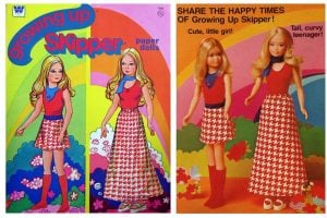 Growing Up Skipper doll - The vintage Barbie doll that grew breasts