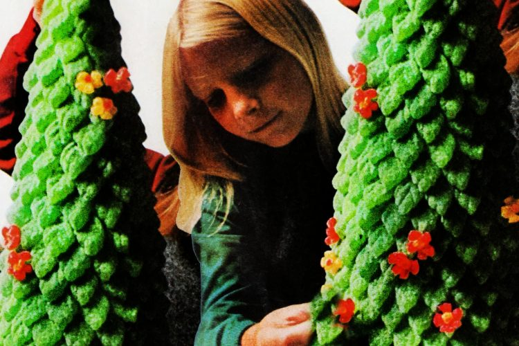 Gumdrop Christmas tree craft 1966