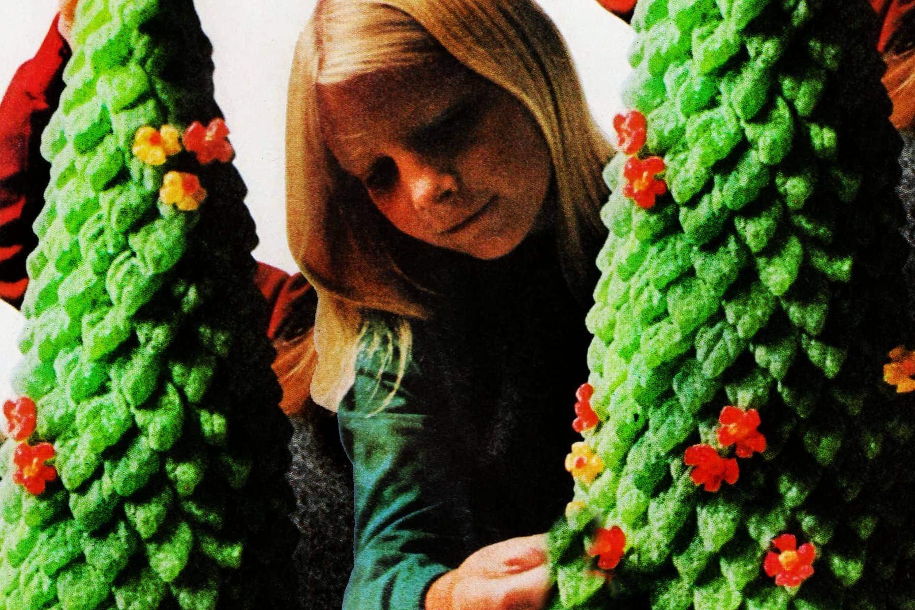 Gumdrop Christmas tree craft 1966