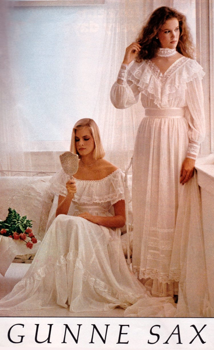 Gunne Sax Prom Dresses Of The Eighties Click Americana