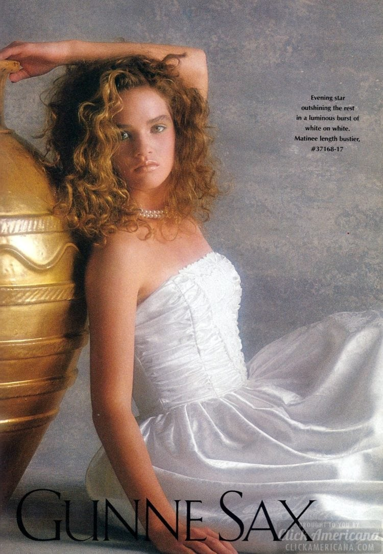 Gunne Sax prom dresses 1988 (1)