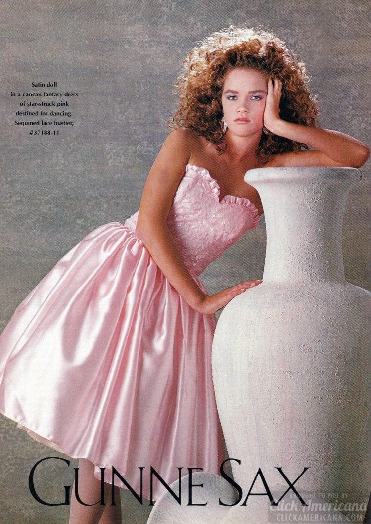 Gunne Sax prom dresses of the eighties -