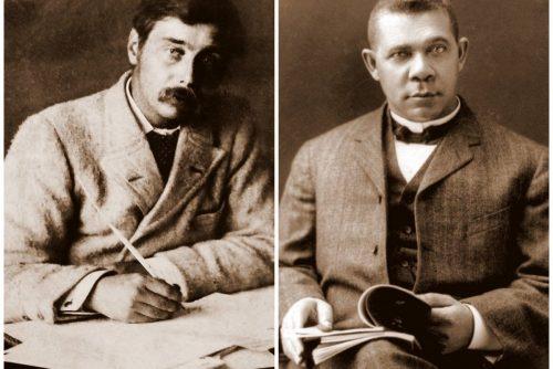 H. G. Wells interviews Booker T Washington (1906)