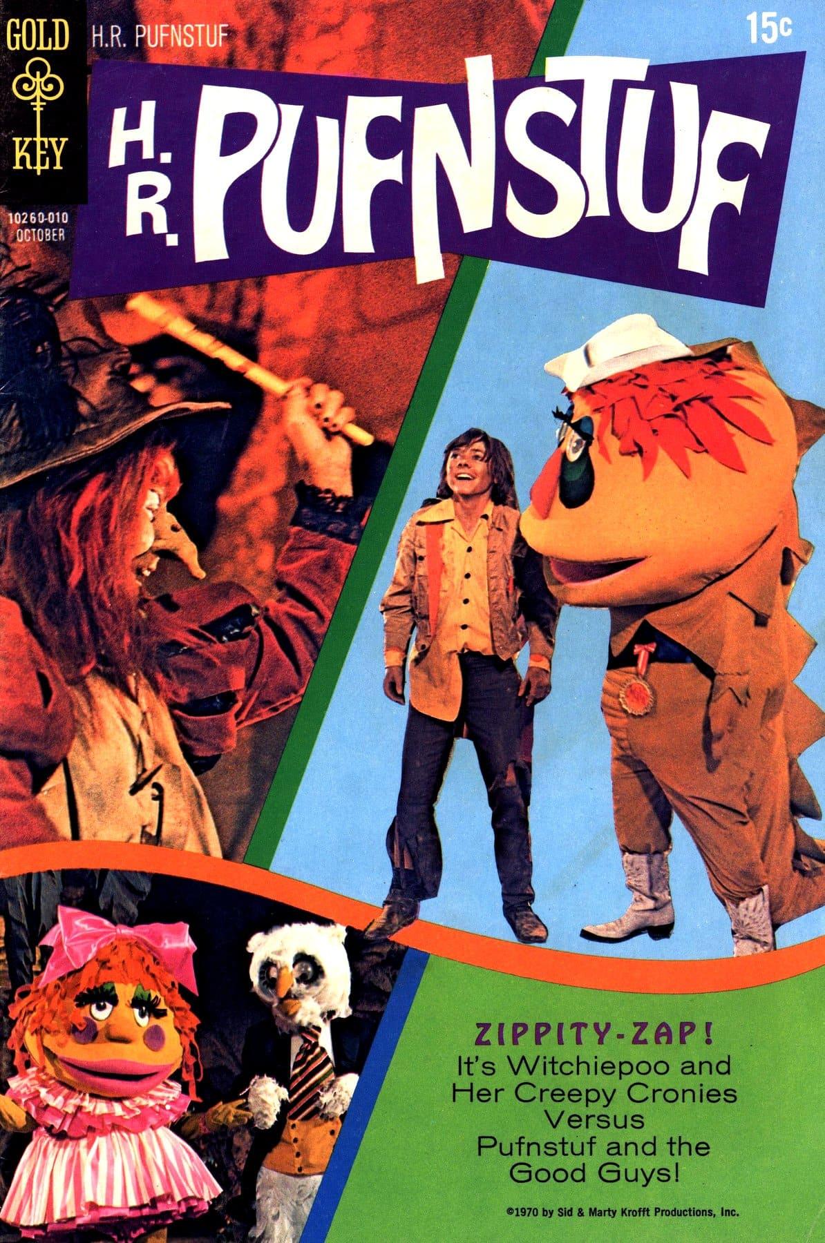 H. R. Pufnstuf comic book cover (1970)