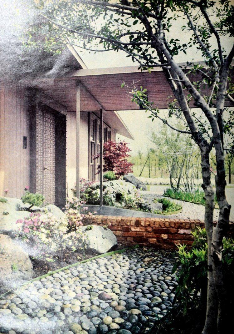 HG magazine Hallmark House 1963 - Vintage home design decor (13)