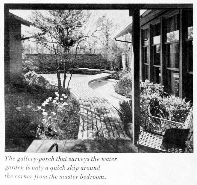 HG magazine Hallmark House 1963 - Vintage home design decor (7)