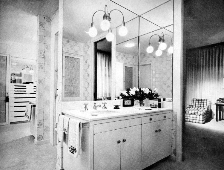 HG magazine Hallmark House 1963 - Vintage home design decor (8)