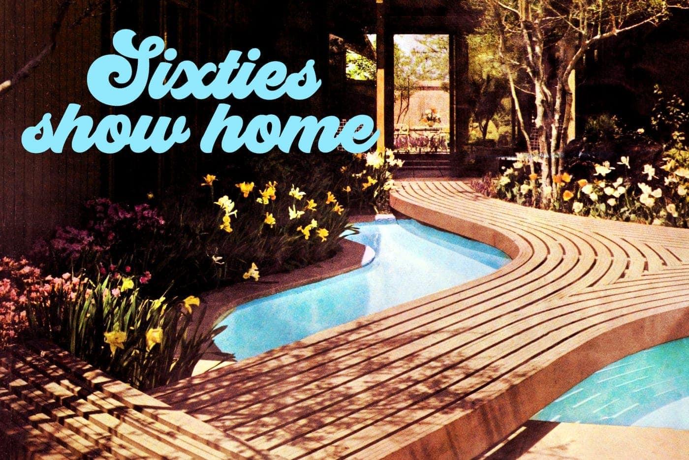 HG showcase home Hallmark House 1960s