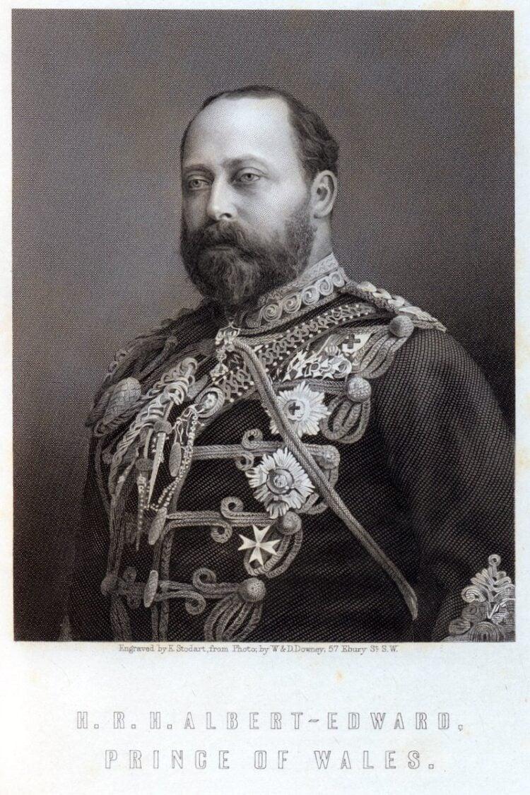 HRH Albert-Edward Prince of Wales - Future King Edward VII