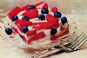 Hail the red, white and blueberry delight