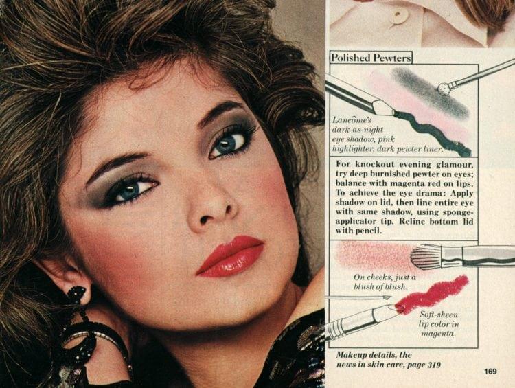 '80s makeup tips: Prairie Pales