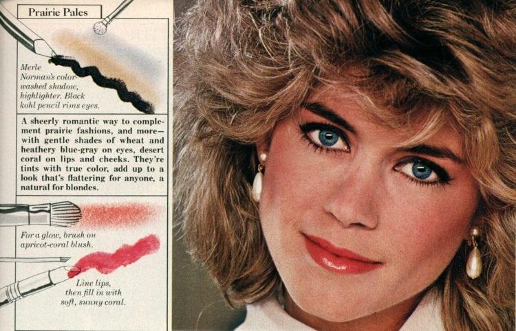 Eighties makeup: City Brights