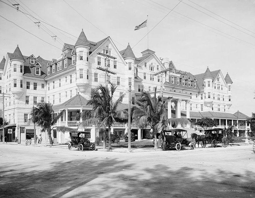 Halcyon Hotel, Miami, Florida c1915
