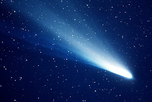 Halley's Comet - NASA Jet Propulsion Laboratory 1985