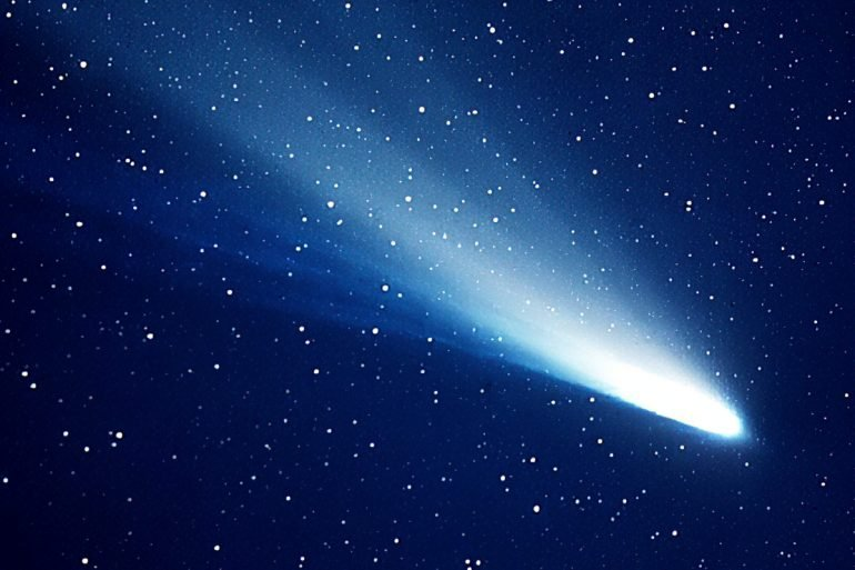 Halley's Comet - NASA Jet Propulsion Laboratory 1985